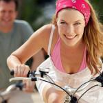 Езда на велосипеде как способ борьбы с целлюлитом