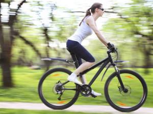 Велосипед против целлюлита